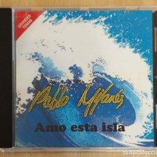 CDs de Música: PABLO MILANES (AMO ESTA ISLA) CD 1992. Lote 191316745
