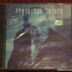 CDs de Música: FRANCISCO CANARO (GRANDES EXITOS) CD 1999 SERIE ORO TANGO * PRECINTADO. Lote 191317072
