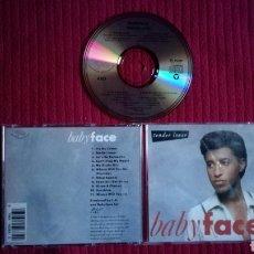 CDs de Música: BABY FACE: TENDER LOVER. CD 1989.. Lote 191318447