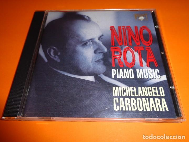CDs de Música: NINO ROTA / PIANO MUSIC / MICHELANGELO CARBONARA/ BRILLIANT CLASSICS / CD - Foto 1 - 191337182