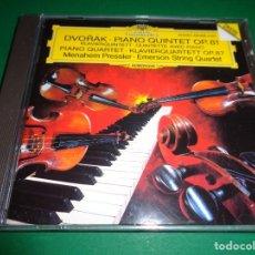 CDs de Música: ANTONÍN DVORAK / PIANO QUARTET / EMERSON STRING QUARTET / DEUTSCHE GRAMMOPHON / CD. Lote 191338090