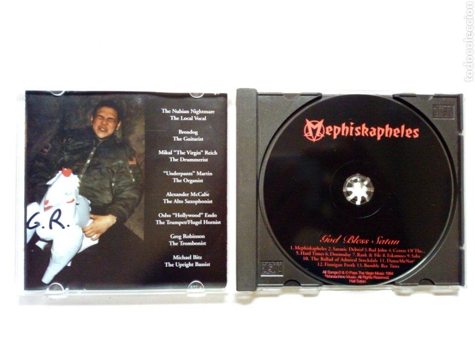 CDs de Música: CD - MEPHISKAPHELES - God bless Satan (Moon Ska, 1994) - Ska Punk - - Foto 3 - 191338745