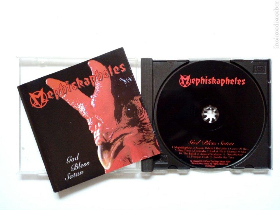CD - MEPHISKAPHELES - GOD BLESS SATAN (MOON SKA, 1994) - SKA PUNK - (Música - CD's Reggae)