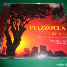 CDs de Música: ASTOR PIAZZOLLA / CAFÉ 1930 / MUSIC FOR VIOLIN AND GUITAR / BRILLIANT CLASSICS / CD. Lote 191338833