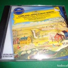 CDs de Música: AARON COPLAND / APPALACHIAN SPRING / SAMUEL BARBER / ADAGIO FOR STRINGS / LEONARD BERNSTEIN / CD. Lote 191339865