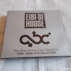CDs de Música: EIBI-SI HOUSE THE GLAMOROUS LOVE SESSIONS 2 CD'S. Lote 191339952