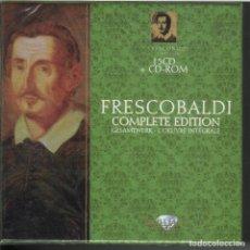 CDs de Música: FRESCOBALDI: COMPLETE EDITION15 CDS + CD-ROM NUEVO PRECINTADO. Lote 191363010