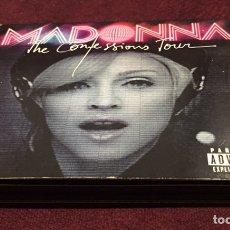 CDs de Música: MADONNA - THE CONFESSIONS TOUR, CD + DVD, 2007, REINO UNIDO & EUROPA. Lote 205327140
