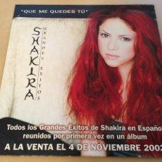 CDs de Música: SHAKIRA - QUE ME QUEDES TU CD SINGLE 2002. Lote 191368090