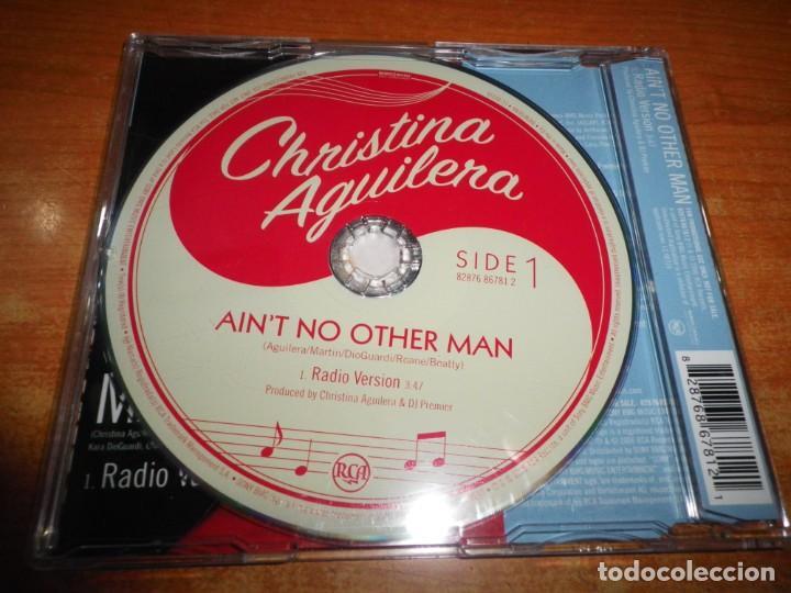 CDs de Música: CHRISTINA AGUILERA Ain´t no other man CD SINGLE PROMO DEL AÑO 2006 EU PORTADA DE PLASTICO 1 TEMA - Foto 2 - 191385456