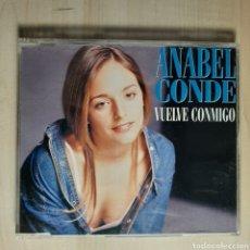 CDs de Musique: AMABLE CONDE / VUELVE CONMIGO/ EUROVISION '95 / 2° POSICION. Lote 191442190