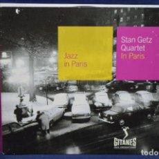 CD di Musica: STAN GETZ QUARTET - IN PARIS - CD. Lote 191444830