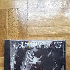 CDs de Música: CD ALASKA Y DINARAMA , DIEZ , 1ª EDICIÓN 1988 - VER FOTOS ADICIONALES. Lote 191444883