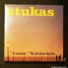 CDs de Música: STUKAS-AL CAMINAR/NO SÉ CÓMO DECIRTE CD-SG. (2016). Lote 191450102