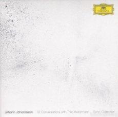 CDs de Musique: JÓHANN JÓHANNSSON, ECHO COLLECTIVE - 12 CONVERSATIONS WITH THILO HEINZMANN - CD. Lote 191462557