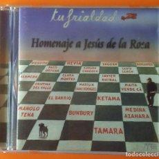 CDs de Música: TRIANA TU FRIALDAD HOMENAJE A JESÚS DE LA ROSA FONOMUSIC AÑO 2000 LIBRETO 24 PÁGINAS. Lote 191474417