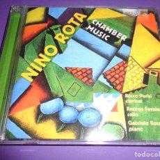 CDs de Música: NINO ROTA / CHAMBER MUSIC / ROCCO PARISI / ANDREA FAVALESSA / GABRIELE ROTA / BRILLIANT CLASSICS CD. Lote 191476580