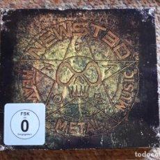 CDs de Música: NEWSTED , HEAVY METAL MUSIC , CD + DVD DELUXE EDITION, DIGIPACK, PERFECTO ESTADO . Lote 191476590