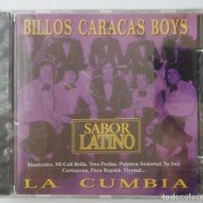 CDs de Música: BILLOS CARACAS BOYS / SABOR LATINO / LA CUMBIA / CD. Lote 191478428
