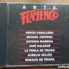 CDs de Música: ARTE FLAMENCO ORBIS. PEPITA CABALLERO CENTENO JOSE SALAZAR PERLA TRIANA (CD). Lote 191485126