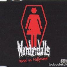 CDs de Música: MURDERDOLLS - DEAD IN HOLLYWOOD - CD SINGLE - 3 CANCIONES.. Lote 191500203