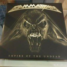 CDs de Música: GAMMARAY-EMPIRE OF THE UNDEAD 2LP BLACK VINYL -DORO-WARLOCK-DIO. Lote 191517212