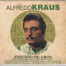 CDs de Música: ALFREDO KRAUS. ENSUEÑO DE AMOR NUEVO PRECINTADO. Lote 191519003