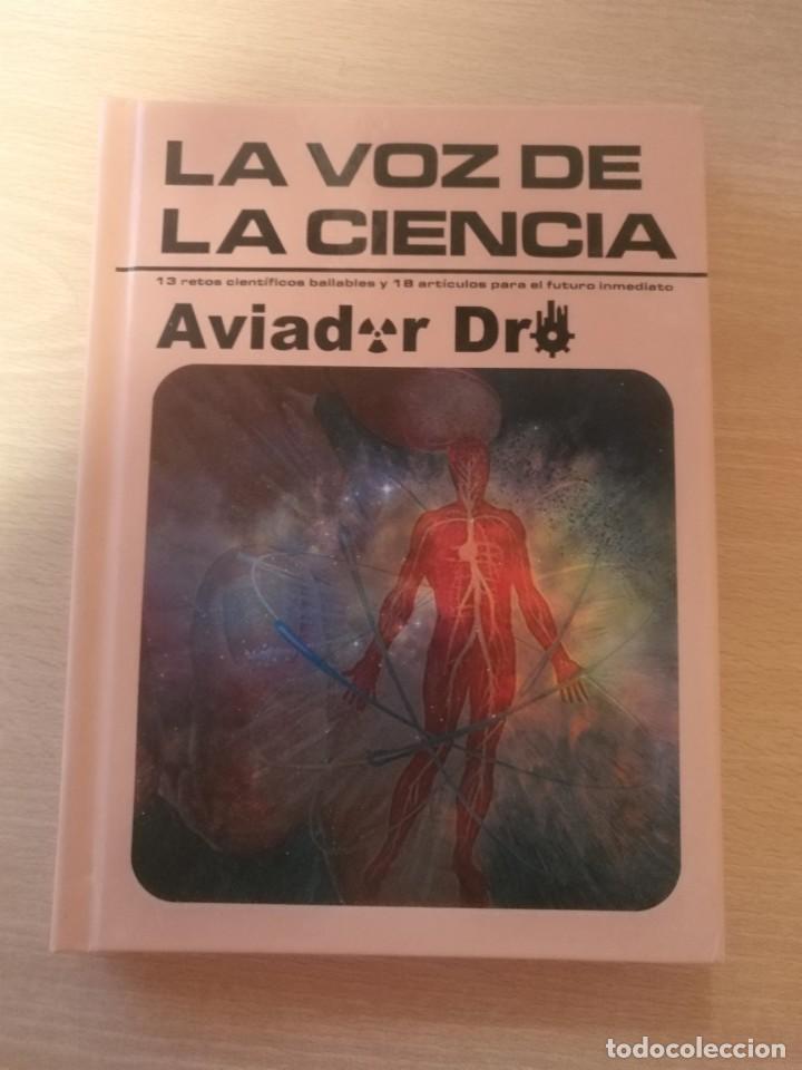 LA VOZ DE LA CIENCIA/ AVIADOR DRO ¡¡AUTOGRAFIADO!! PROYECTO ACTS DISCO LIBRO 2012 (Música - CD's Pop)