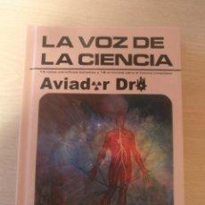 CDs de Música: LA VOZ DE LA CIENCIA/ AVIADOR DRO ¡¡AUTOGRAFIADO!! PROYECTO ACTS DISCO LIBRO 2012. Lote 191524611