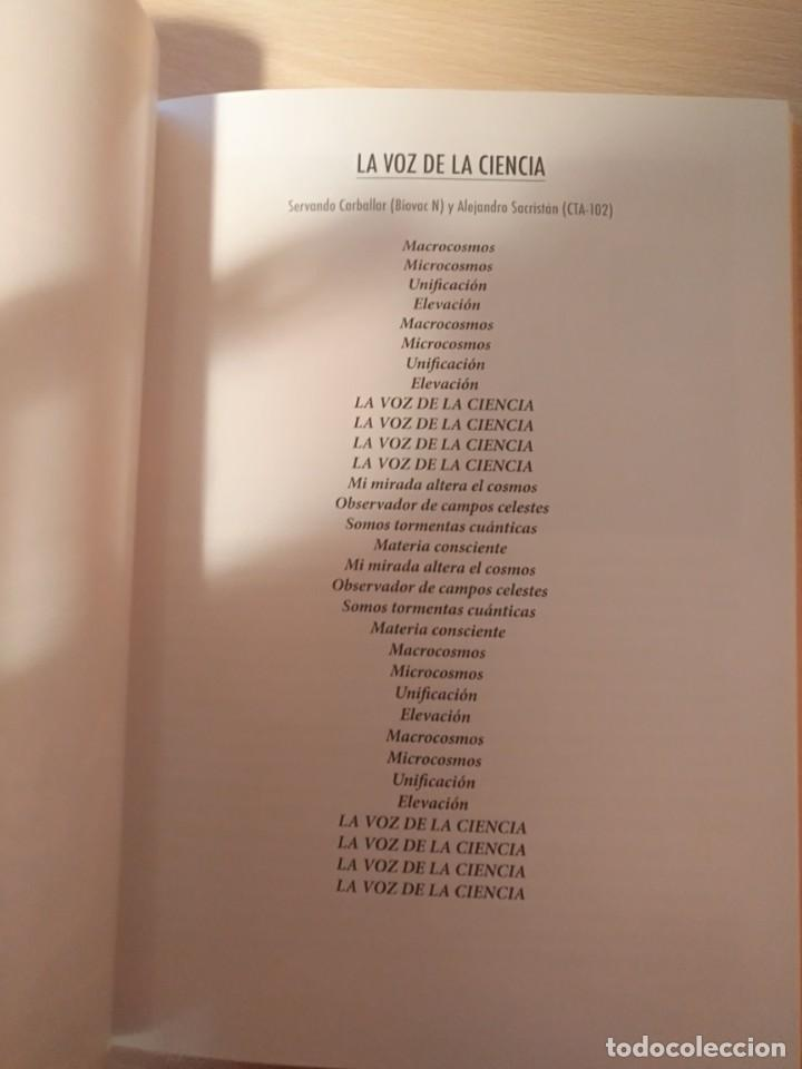 CDs de Música: LA VOZ DE LA CIENCIA/ AVIADOR DRO ¡¡AUTOGRAFIADO!! PROYECTO ACTS DISCO LIBRO 2012 - Foto 3 - 191524611