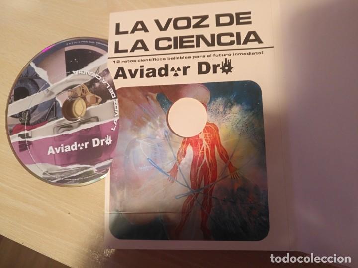 CDs de Música: LA VOZ DE LA CIENCIA/ AVIADOR DRO ¡¡AUTOGRAFIADO!! PROYECTO ACTS DISCO LIBRO 2012 - Foto 5 - 191524611