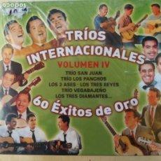 CDs de Música: TRIOS INTERNACIONALES VOL. IV: 60 EXITOS DE ORO (3CDS) PRECINTADO. Lote 191542380