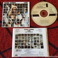 CDs de Música: TOURE KUNDA **LIVE PARIS-ZIGUINCHOR** CD ORIGINAL 1984 HOLANDA. Lote 191582323