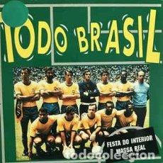 CDs de Música: TODO BRASIL--CD CARDBOARD CON 2 TEMAS. Lote 191592972