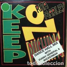 CDs de Música: RITA MARLEY - KEEP ON PUSHING (DANCE HALL MIX) CD SINGLE CARDBOARD. Lote 191594300