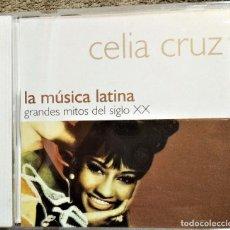 CDs de Música: CD CELIA CRUZ - GRANDES MITOS DEL SIGLO XX, LA MUSICA LATINA, EL PAÍS – PMEP-1 , 2000 (EX_NM). Lote 191594678