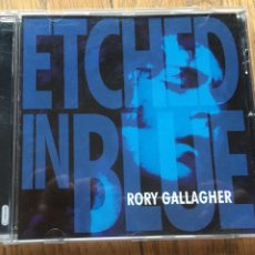 CDs de Música: RORY GALLAGHER, ETCHED IN BLUE CD. Lote 191601131