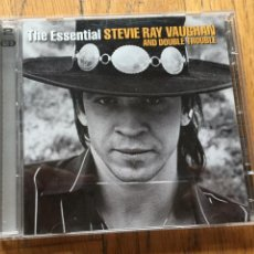 CDs de Música: THE ESSENTIAL STEVIE RAY VAUGHAN AND DOUBLE TROUBLE, CD. Lote 191601351