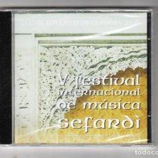 CDs de Música: V FESTIVAL INTERNACIONAL DE MÚSICA SEFARDÌ 2006. Lote 191626251