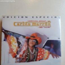 CDs de Música: CARLINHOS BROWN AS CARLITOS MARRÓN + DVD INSIDE. Lote 191628347