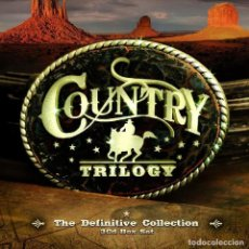 CDs de Música: COUNTRY 3CD BOX DIGIPACK * THE DEFINITIVE TRILOGY COLLECTION * LTD * PRECINTADO!!. Lote 191629680