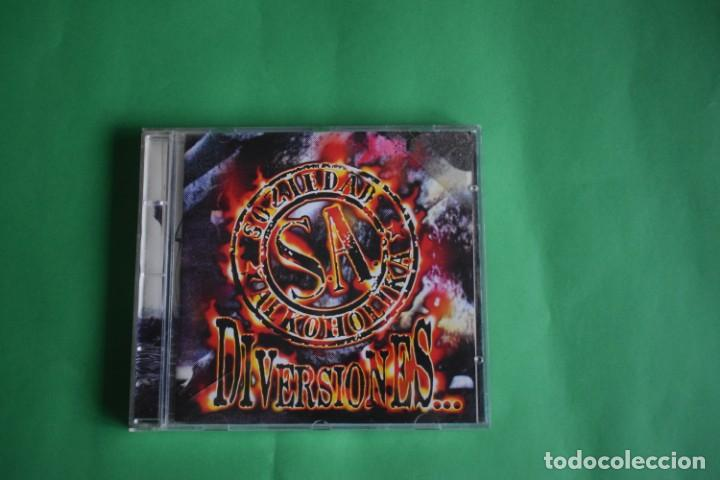 SOCIEDAD ALKOHOLIKA-DIVERSIONES (Música - CD's Heavy Metal)