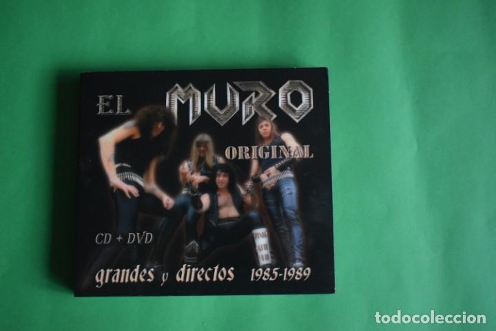 MURO-GRANDES Y DIRECTOS (Música - CD's Heavy Metal)