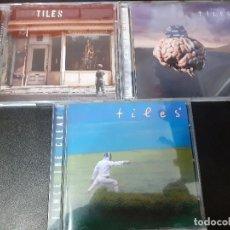 CDs de Música: TILES - LOTE 3 CD,S METAL PROGRESIVO EDICIONES LTD. Lote 191645738