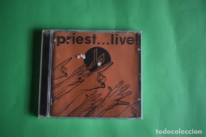 JUDAS PRIEST-LIVE (Música - CD's Heavy Metal)