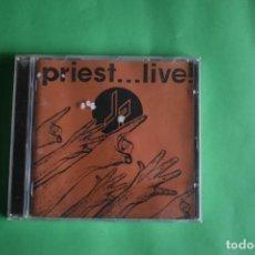 CDs de Música: JUDAS PRIEST-LIVE. Lote 191645850