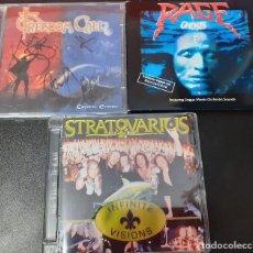 CDs de Música: LOTE 3 CD,S FREEDOM CALL,STRATROVARIUS,RAGE. Lote 191645872