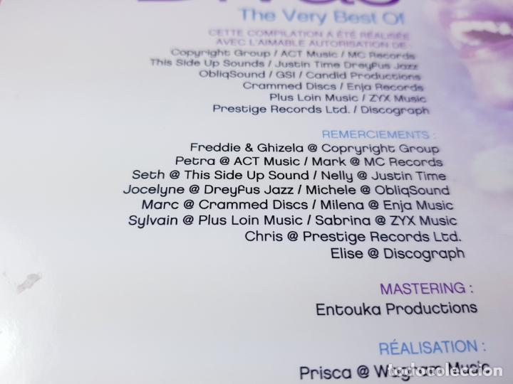 CDs de Música: CD DOBLE-JAZZ DIVAS.THE VERY BEST OF-JAZ RADIO-2011-WAGRAM MUSIC. - Foto 6 - 191646992