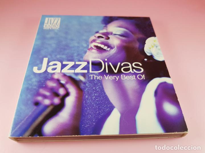 CDs de Música: CD DOBLE-JAZZ DIVAS.THE VERY BEST OF-JAZ RADIO-2011-WAGRAM MUSIC. - Foto 13 - 191646992
