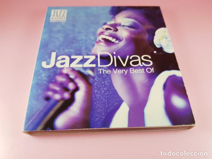 CDs de Música: CD DOBLE-JAZZ DIVAS.THE VERY BEST OF-JAZ RADIO-2011-WAGRAM MUSIC. - Foto 15 - 191646992